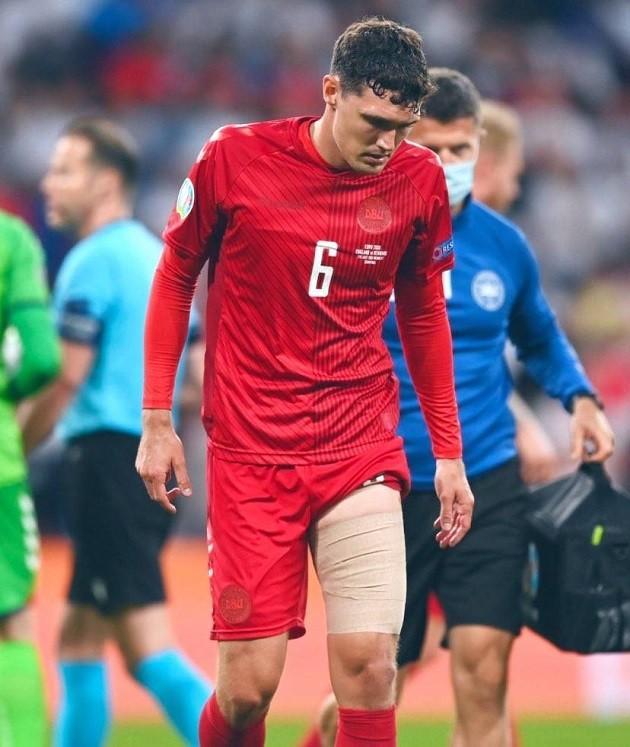What happened to Chelsea defender Andreas Christensen in England's win against Denmark - Bóng Đá