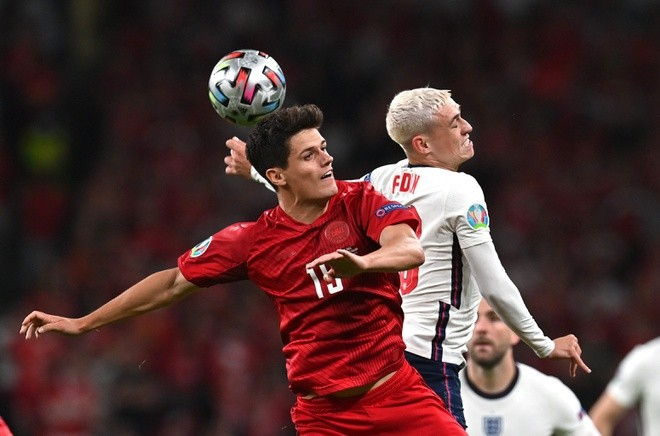 England first time in Euro final - Bóng Đá