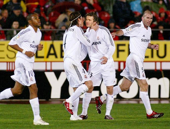 Ramos từng tỏa sáng bên cạnh những người đàn anh nổi tiếng