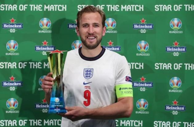 Harry Kane named Man of the Match for Denmark vs England - Bóng Đá
