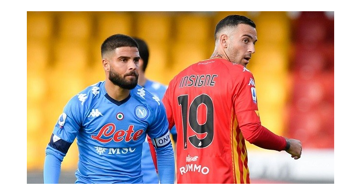 Insigne brothers score against each other as Napoli beat Benevento in Serie A - Bóng Đá