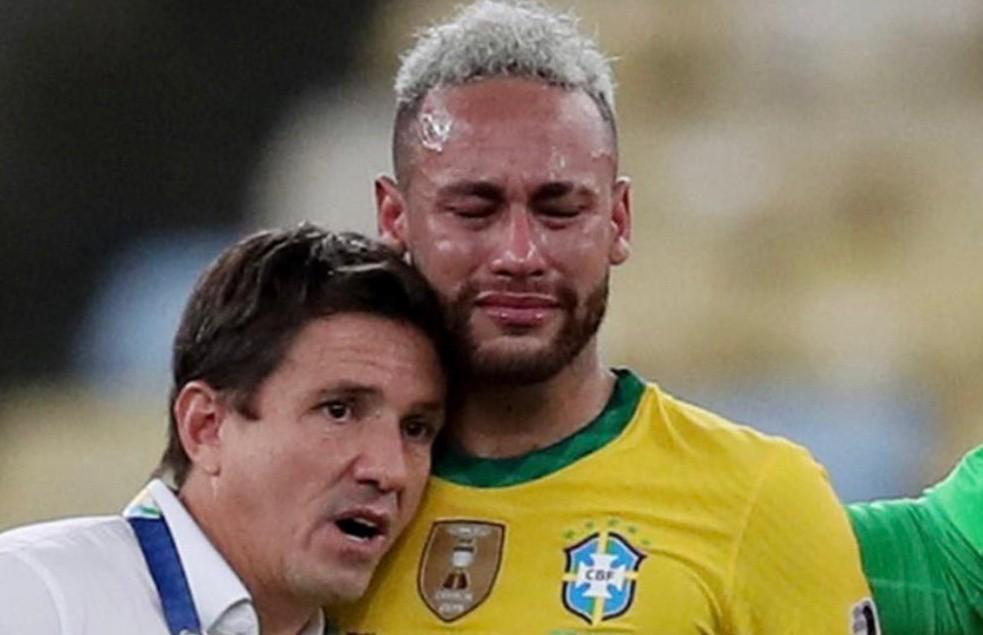 Neymar gây choáng, bật khóc nức nở rồi cười toe toét bên Messi - Bóng Đá