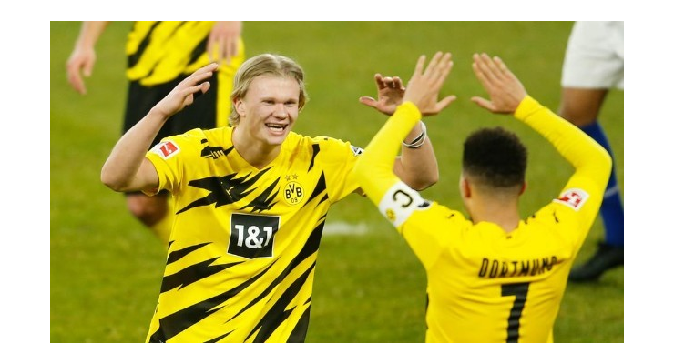 Erling Haaland 'can imagine' playing for Chelsea or Manchester City – Upset at Sancho exit - Bóng Đá