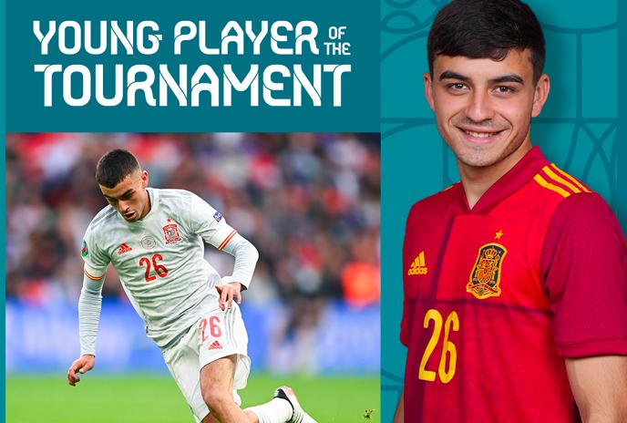 CHÍNH THỨC! Sao Barca là cầu thủ trẻ hay nhất EURO 2020 - Bóng Đá