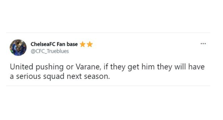 Varane sắp đến Man Utd, CĐV Chelsea nói lên 1 sự thật - Bóng Đá