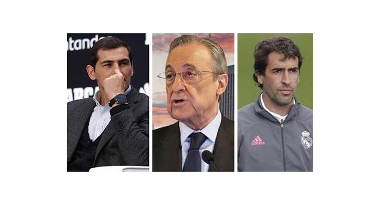Biến căng ở Real: Perez gọi Raul và Casillas là 2 tên lừa đảo