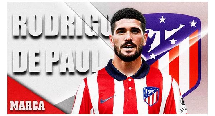Atletico chiêu mộ xong Rodrigo De Paul