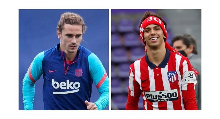 The first swap Barcelona wanted: Griezmann for Joao Felix - Bóng Đá