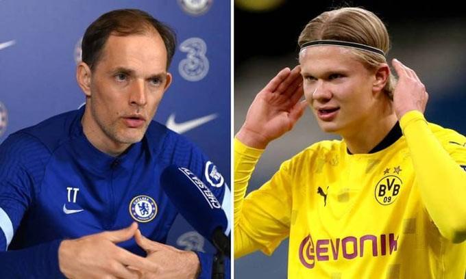 Chelsea đang rất thèm khát Haaland