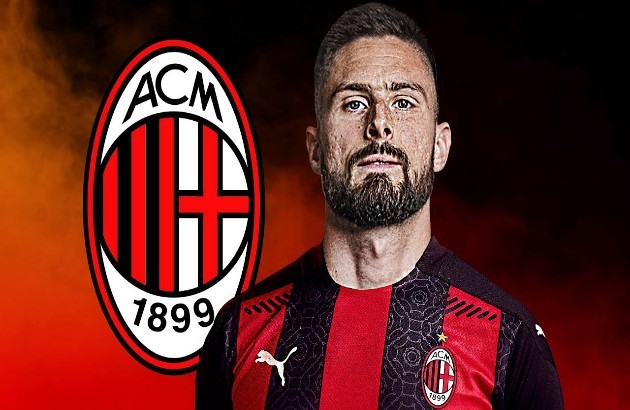 Olivier Giroud is expected to complete a move to AC Milan on Friday. Deal worth up to €3M including add-ons - Bóng Đá