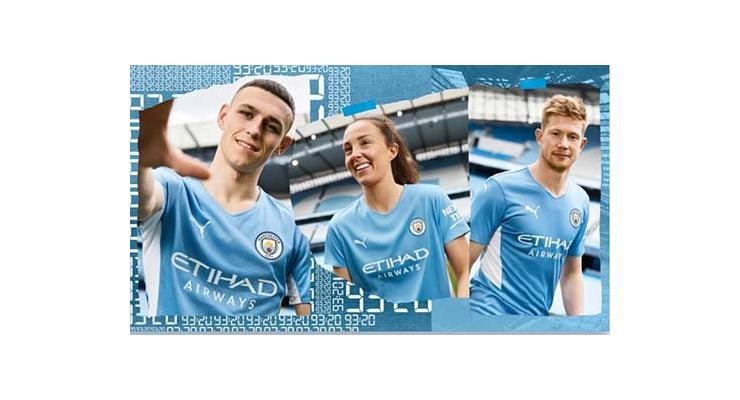 Man City công bố trang phục mùa 2021/22 lấy cảm hứng từ 10 năm trước