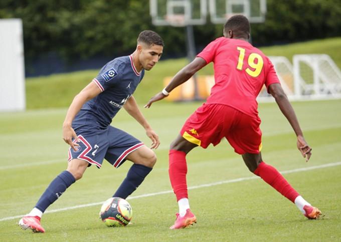 Hakimi có trận ra mắt thành công ở PSG