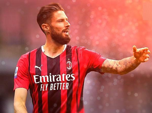 Xác nhận: Giroud chuẩn bị ra mắt AC Milan - Bóng Đá