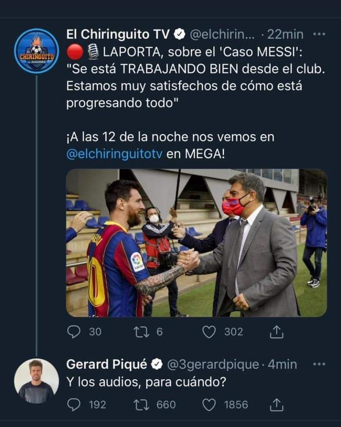 Gerard Pique Takes Cheeky Dig At Real Madrid Over Leaked Audio - Bóng Đá