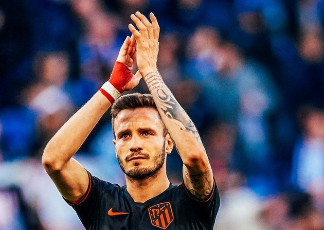 Liverpoôl linked Saul has 'many options', says Atletico Madrid midfielder's agent - Bóng Đá