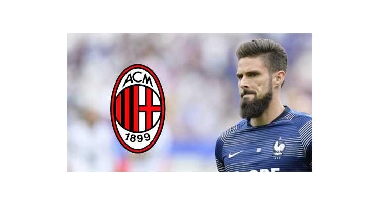 Milan chờ đợi gì ở tân binh Giroud?