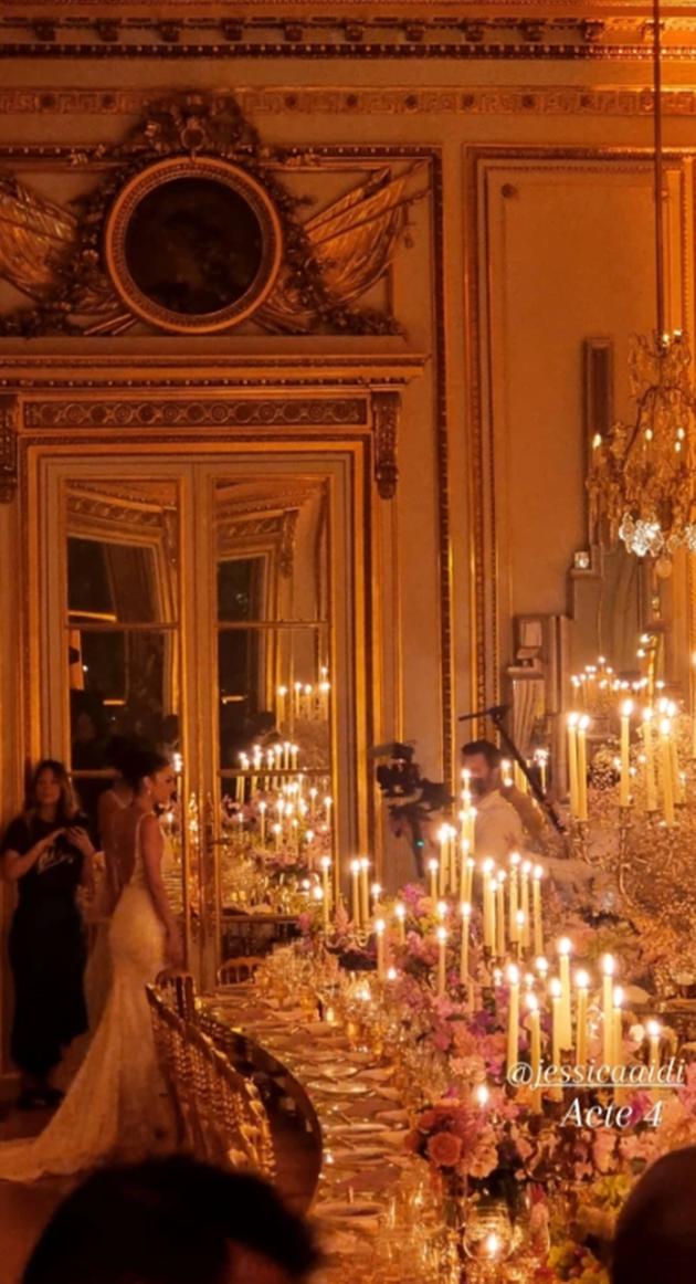 Inside Marco Verratti and model partner Jessica Aidi's Paris wedding - Bóng Đá