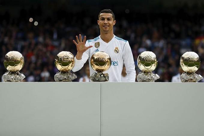 Ronaldo chưa thể có thêm Quả bóng vàng thứ 6