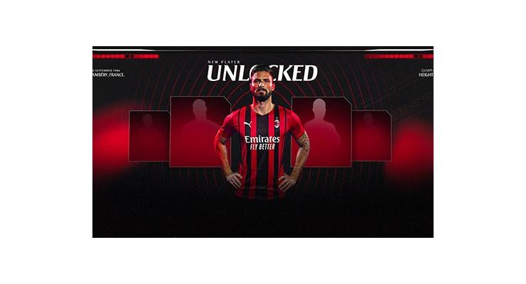 Giroud chính thức gia nhập Milan, mặc áo số 9