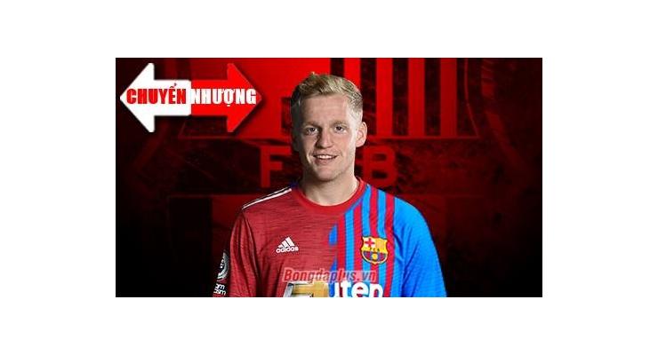 Tin chuyển nhượng 20/7: Barca muốn mượn Van de Beek của MU