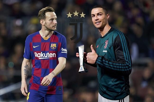Ivan Rakitic reveals Ronaldo wanted him to leave Barcelona for Juventus in 2019 - Bóng Đá