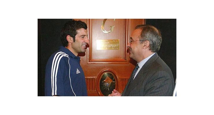 Luis Figo: 'Chủ tịch Perez đã xin lỗi tôi'