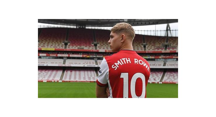 Smith Rowe gia hạn 5 năm, mặc áo số 10 tại Arsenal