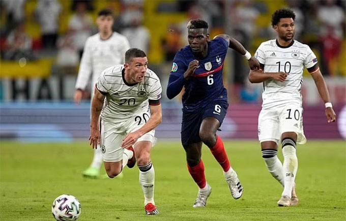 Pogba thi đấu cực hay ở EURO 2020